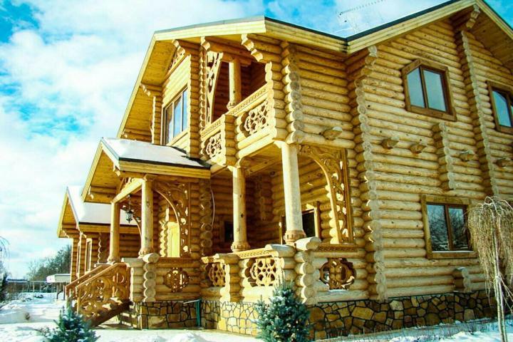Технология строительства бревенчатых домов